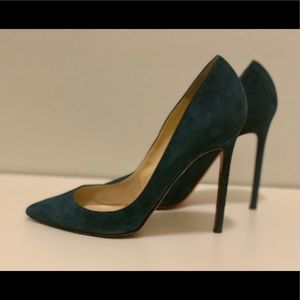 Christian Louboutin Suede Pigalle Follies